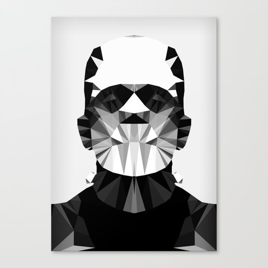 Polygon Heroes - The Horror Canvas Print