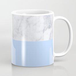 Duck Egg Marble Coffee Mug