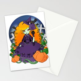 The Violet Witch Stationery Cards