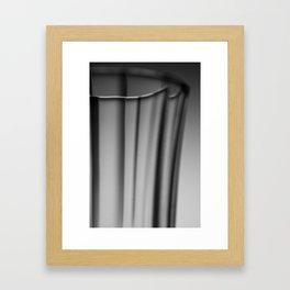 Glass III Framed Art Print