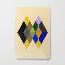 Abstract #712 Metal Print