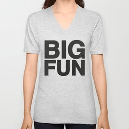 BIG FUN Unisex V-Neck