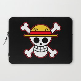 Straw hat Flag Laptop Sleeve