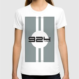 924 Turbo Racing Design T-shirt