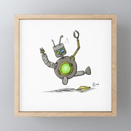 Technical Difficulties Framed Mini Art Print