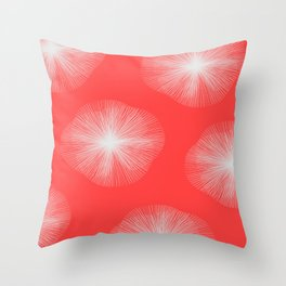 Coral Bust Throw Pillow