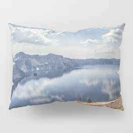 Crater Lake with a view of the Phantom Ship Pillow Sham