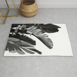 Banana Leaves Finesse #2 #tropical #decor #art #society6 Rug