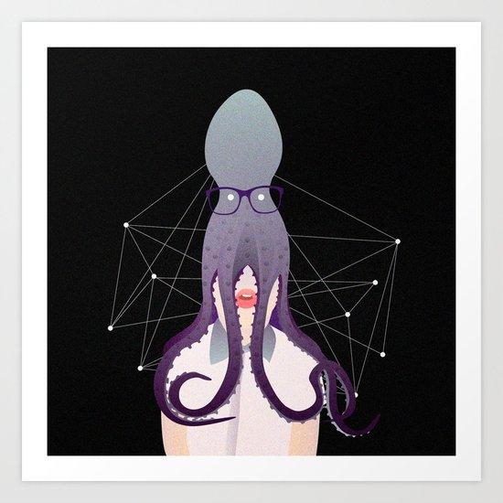 Octopation Art Print