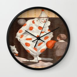Clowning Wall Clock
