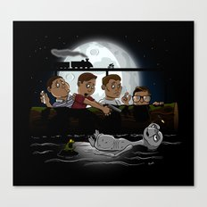 Stand By E.T. Canvas Print