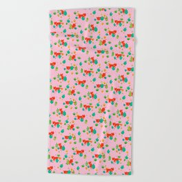 Tiger Hunt Beach Towel