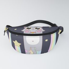 Pastel Cat Space Fanny Pack