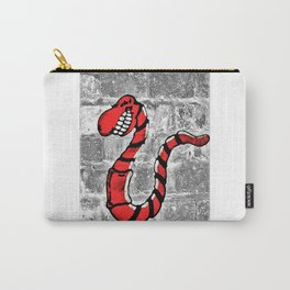 Mr. Worm Graffiti Carry-All Pouch