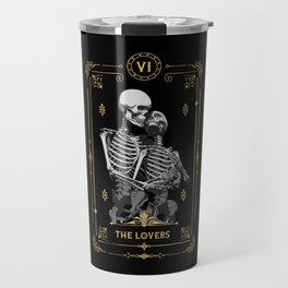 The Lovers VI Tarot Card Travel Mug