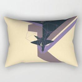 STEALTH:YF-23 Blackwidow II Rectangular Pillow
