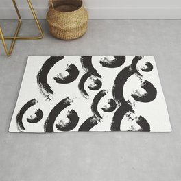 abstract geometry wave  Rug