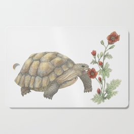 Desert Tortoise & Mallow Cutting Board
