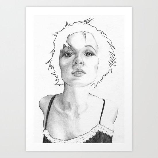 Lean in Art Print