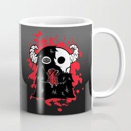 The Skullmonster Has Your Heart Coffee Mug