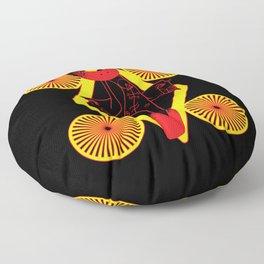 Mere du soleil Floor Pillow