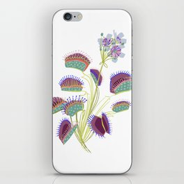 Venus Fly Trap iPhone Skin