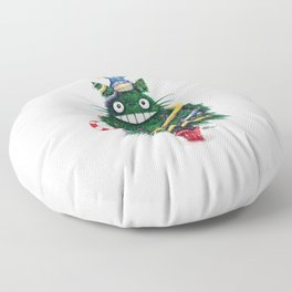 Christmas TOTOR0 (Studio Ghibli) Floor Pillow