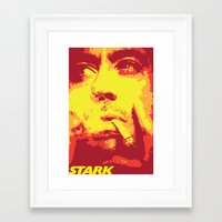 stark Framed Art Prints featuring Stark by Logman Vilhelmson