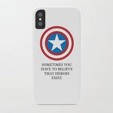 Captain A Slim Case iPhone X