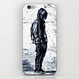 Cool boy iPhone Skin