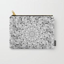 Galaxy Mandala Black & White Carry-All Pouch