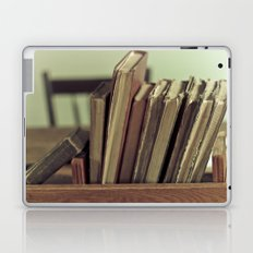 Retro Books Laptop & iPad Skin