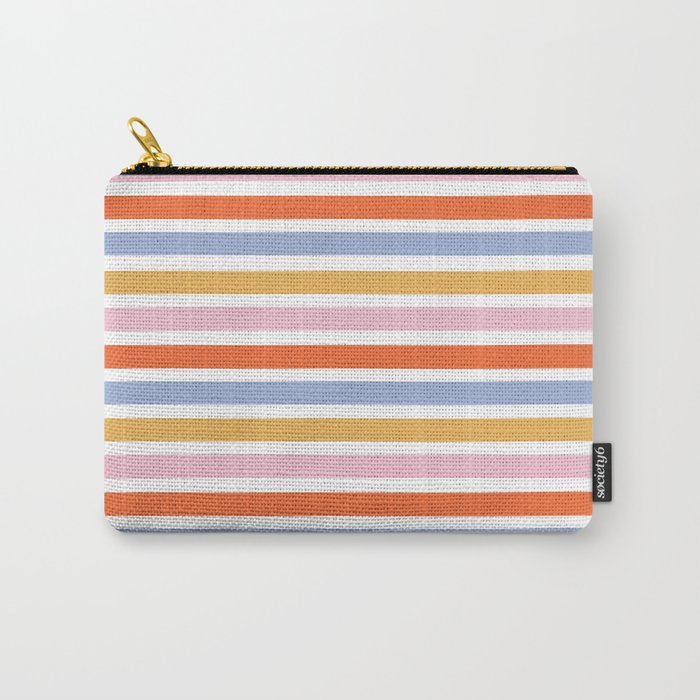 Demi Stripe Carry-All Pouch