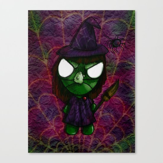 WitchBob Canvas Print