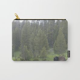 Pouting Bison Carry-All Pouch