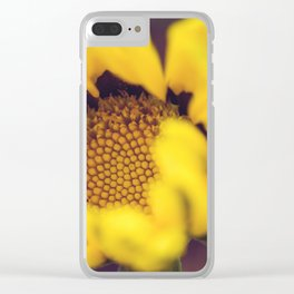 Summer in a sunflower - Floral Photography #Society6 Clear iPhone Case