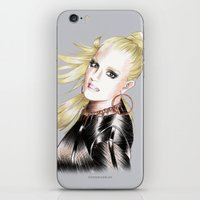 britney spears iPhone & iPod Skins featuring Britney Spears Scream & Shout by Eduardo Sanches Morelli