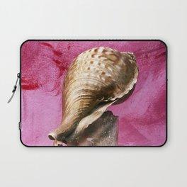 SEASHELL - STILLIFE - PINK WALL Laptop Sleeve