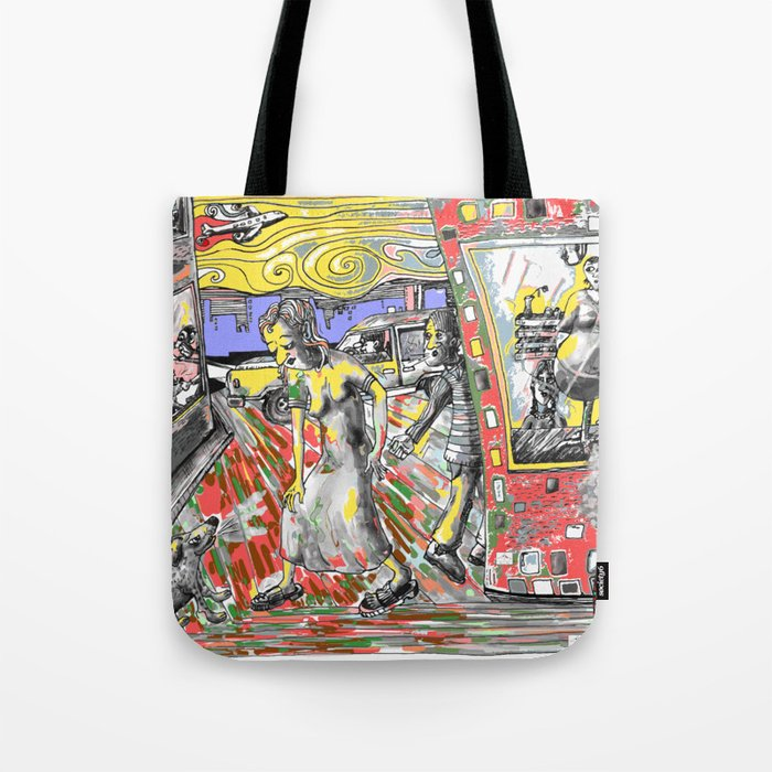 come-on  bitch.. Tote Bag