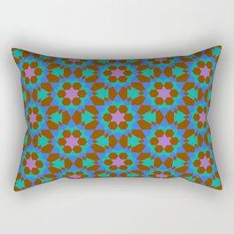 islamic geometric pattern Rectangular Pillow