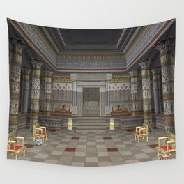 Ancient Egyptian Hall Wall Tapestry