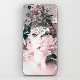 blooming 2 iPhone Skin