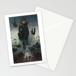 Crows Stationery Cards