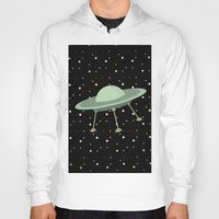 ufo Hoodies featuring UFO by Mr and Mrs Quirynen