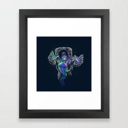 Jellyspace 2 Framed Art Print