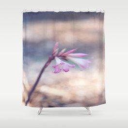 Standing Beauty Shower Curtain