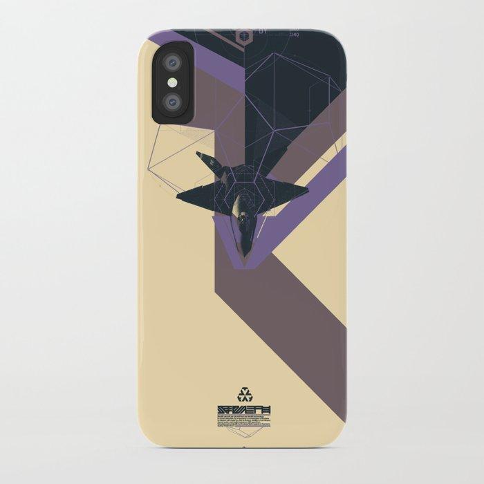 STEALTH:YF-23 Blackwidow II iPhone Case