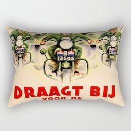 Draagt Bij Rectangular Pillow