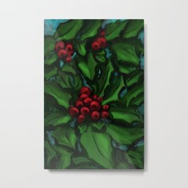 Holly DP160229a Metal Print