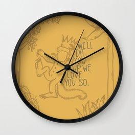 King Max Wall Clock